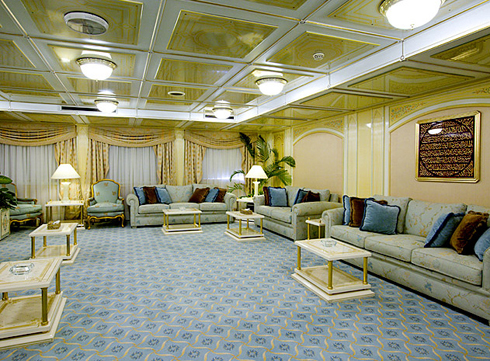 Modeled after the finest hotel lobbies!