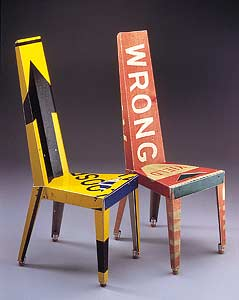 A chair for the sign lover in your life