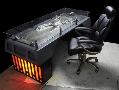 No one will mess with you ever when you have this desk