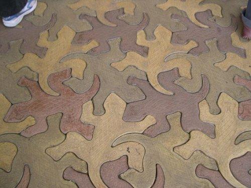 Escher-floor