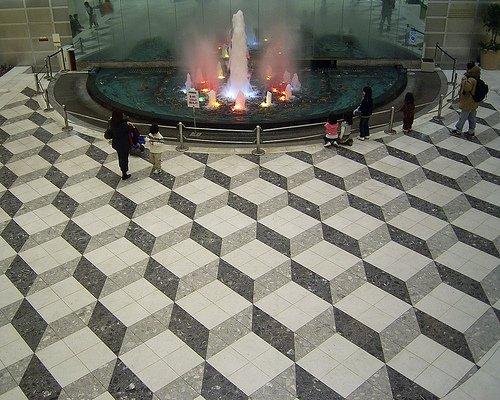 Escher-tiles