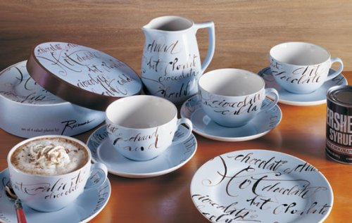 Hot chocolate stoneware