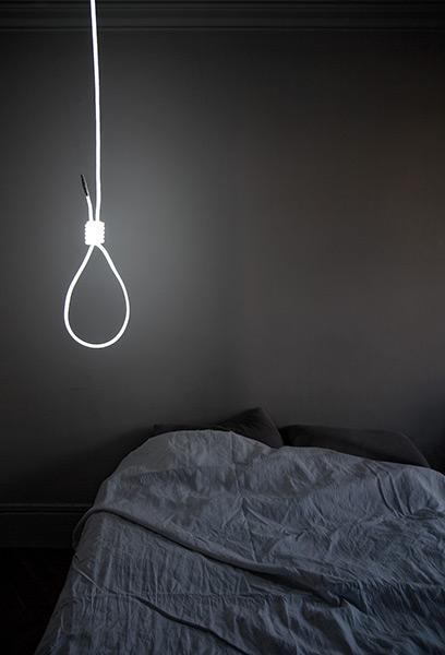 Noose lamp!