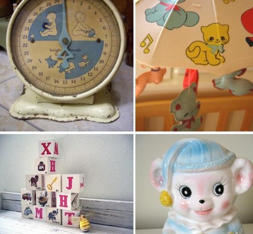The vintage nursery