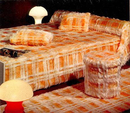 Furry furniture