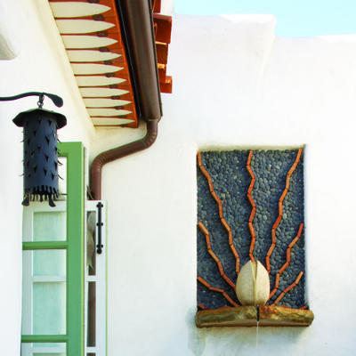 Spanish villa details