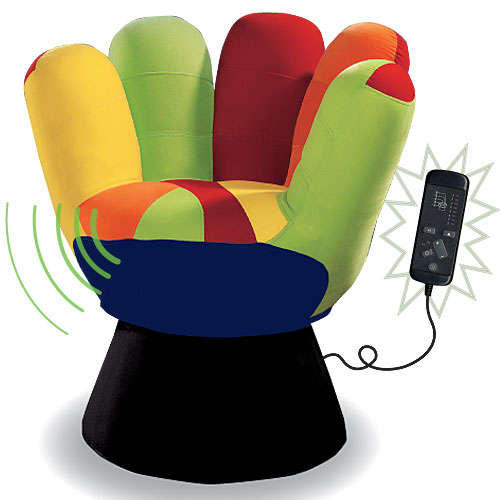 Vibrating chair