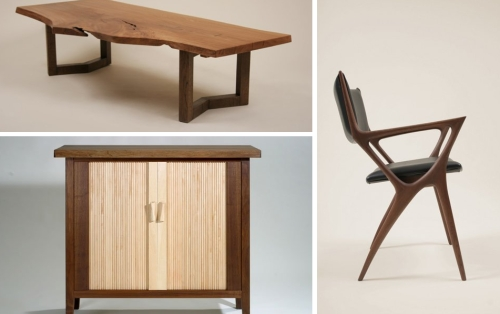 Japanese wood furniture