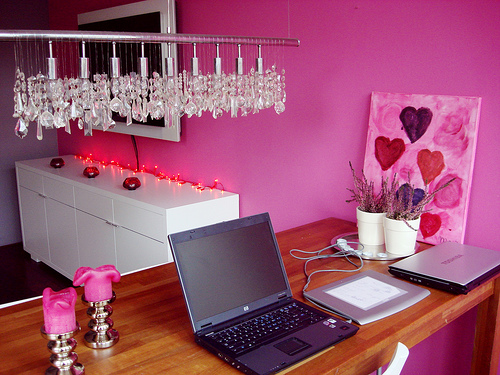 Home Design Pink House