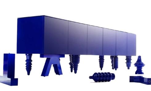 multi-leg cabinet