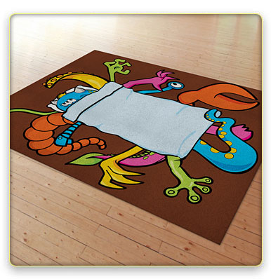Boogieman rug
