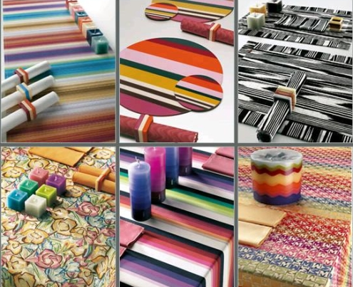 Missoni table linens