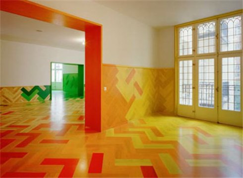 colorful flooring