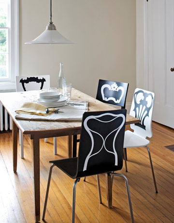 Trompe L'oeil Chair Decals