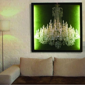 crystal chandelier print 2x