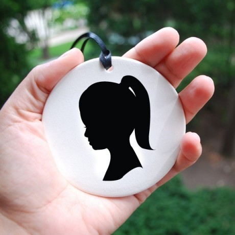 silhouette ornaments 2