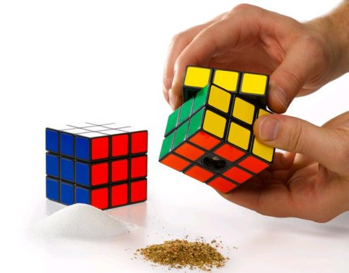 rubicks cube salt and pepper grinders