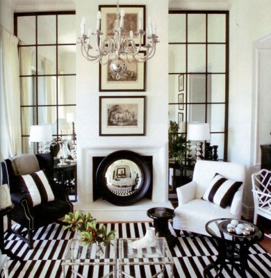 Living Room Windows on Whatever You Do  Make Sure Your Wall Mirror Or Wall Mirrors Aren   T