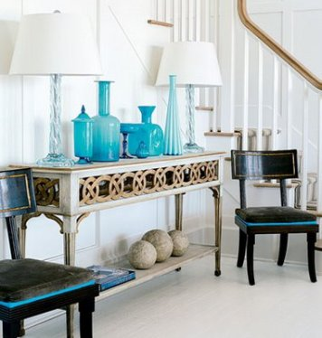 Turquoise Decor Manolo For The Home