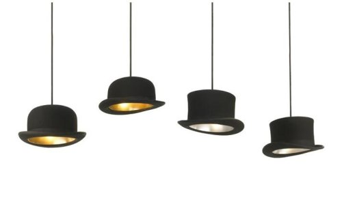 pendant lighting bowler hats