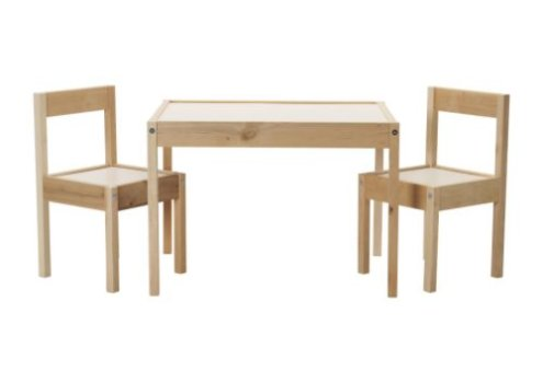 Life Unexpected DIY Ikea Latt Table Makeover
