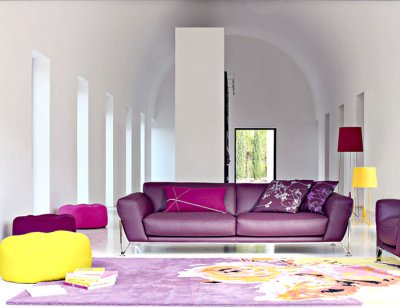 Furniture Living Room Chairs on Vibrant Living Room Furniture Sofas Chairs Roche Bobois
