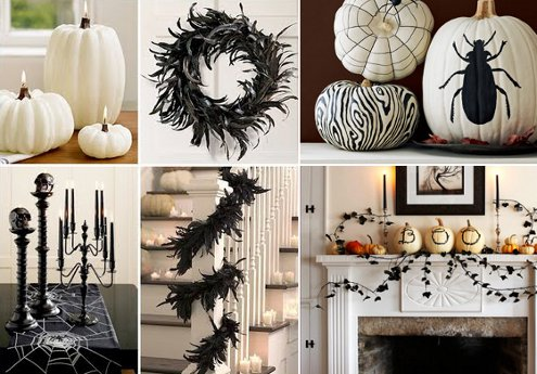 Modern Halloween Decor diy halloween decorations - diy home decorating
