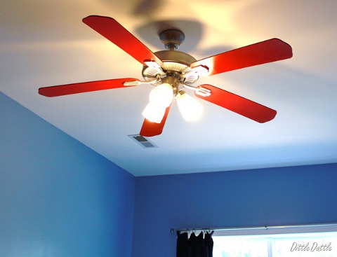 How to how to paint ceiling fan blades how to paint ceiling fan blades aloadofball Images