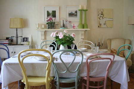 More Mismatched Dining Room Chairs
