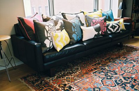 Image result for too many couch pillows