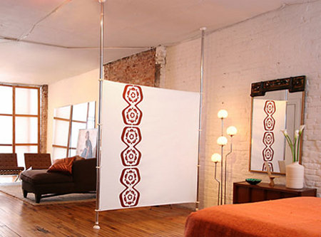 room dividers diy. You could SO DIY this one