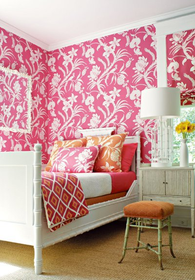 Wallpaper Pattern on Large Pattern Wallpaper   Manolo For The Home