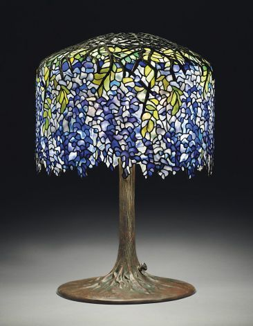Wisteria Tiffany Lamp from Eddie Rickenbackers