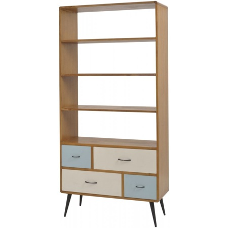 Libra Furniture Retro Bookcase