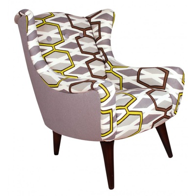 Libra Furniture Retro Wing Chair